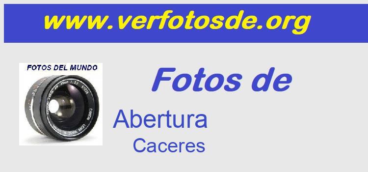Fotos de  Abertura