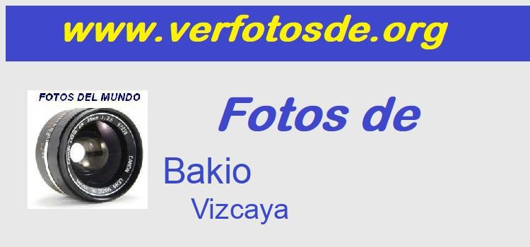Fotos de  Bakio
