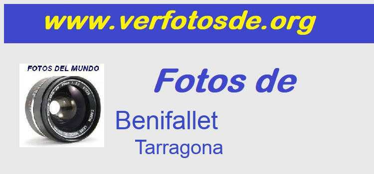 Fotos de  Benifallet