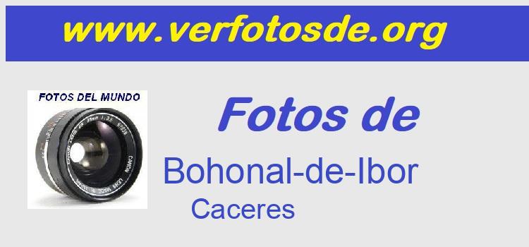 Fotos de  Bohonal-de-Ibor