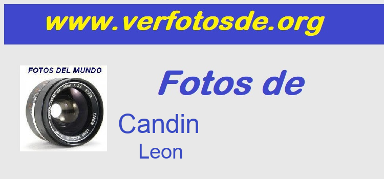 Fotos de  Candin
