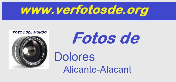 Fotos de  Dolores