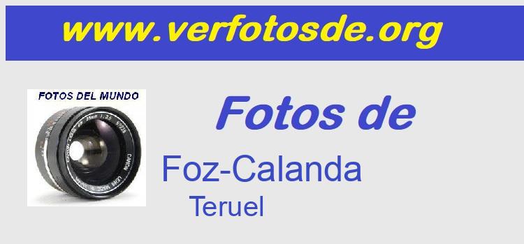 Fotos de  Foz-Calanda