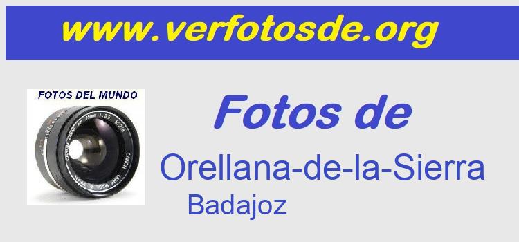 Fotos de  Orellana-de-la-Sierra