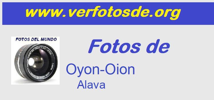 Fotos de  Oyon-Oion